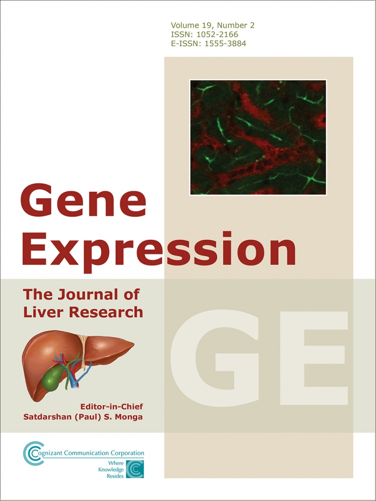 Gene Expression The Journal Of Liver Research Cognizant